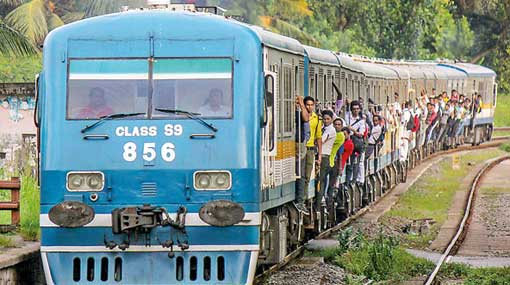 Trains on up-country line delayed due to derailed train