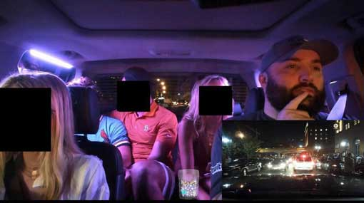 Uber driver fired after he livestreamed passengers without consent