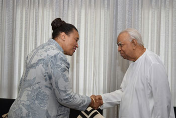 Commonwealth Secretary General meets Sampanthan...
