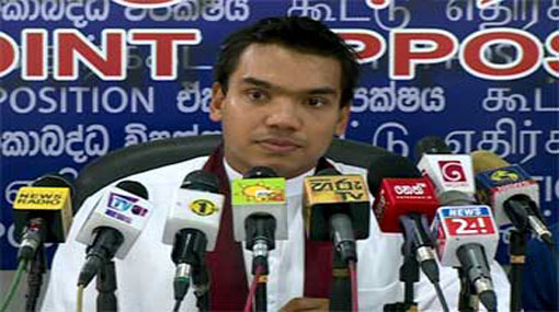 JO is poised to file a no-confidence motion against Ravi - Namal