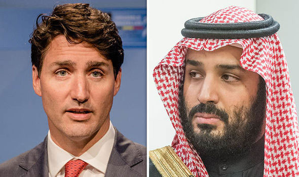 Saudi Arabia, Canada row over jailed activists escalates