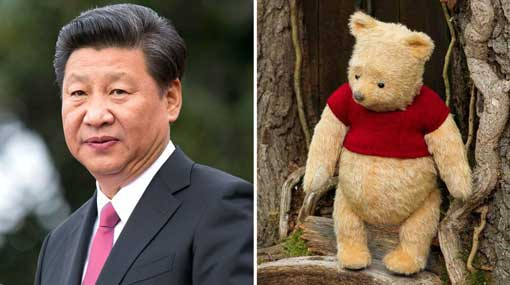China bans Pooh movie after comparisons to President Xi
