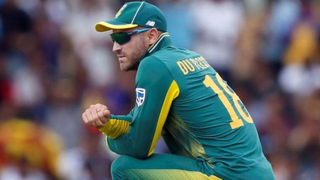 Du Plessis ruled out of remainder of Sri Lanka tour