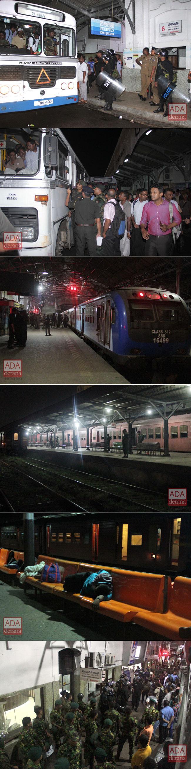 Anger over railway strike...