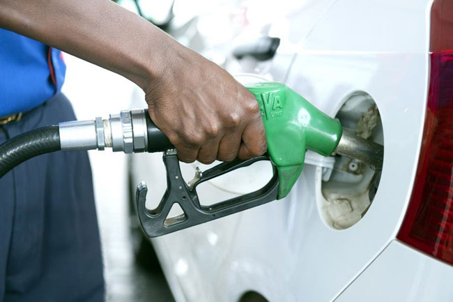 Fuel prices revised from midnight today