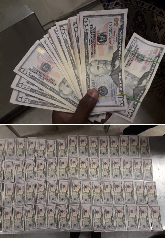 Maldivian national arrested with fake US Dollars