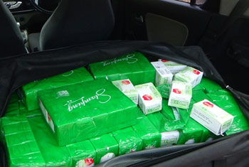 70,000 Tramadol pills seized...