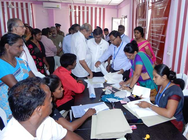 242 Sri Lankan returnees apply for citizenship at ICMS in Mannar