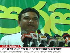 PC Elections delimitation report will be defeated in Parliament - Nalin Bandara (English)