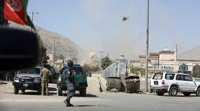 Rockets hit near presidential palace in Afghan capital Kabul