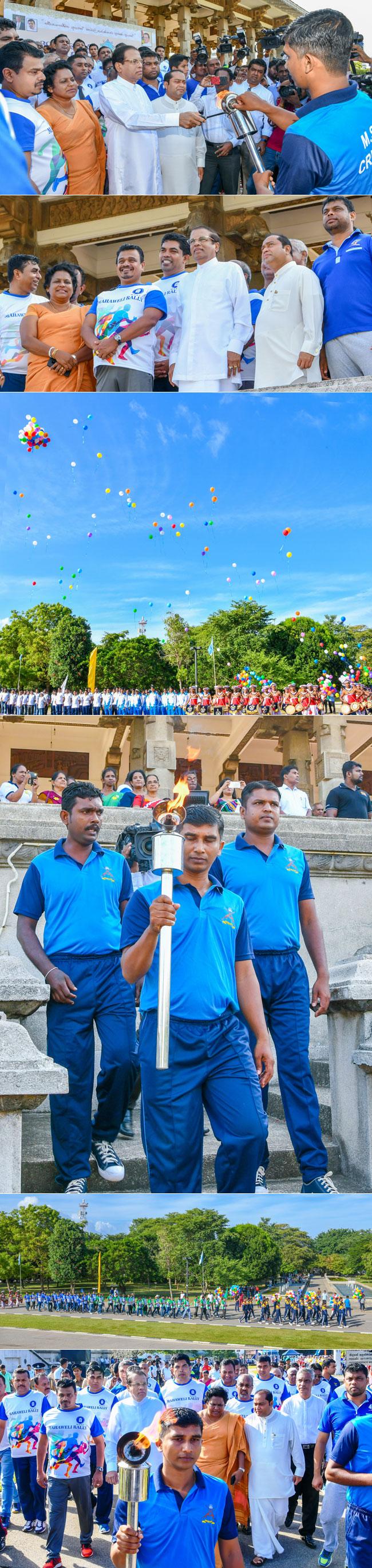 30th Mahaweli Sports Ceremony's vehicle parade...