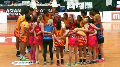 Sri Lanka into final of Asian Netball Championships