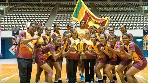 Sri Lanka wins Asian Netball Championship after 9 years