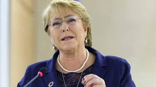 Michelle Bachelet finds resume of death penalty in SL disturbing