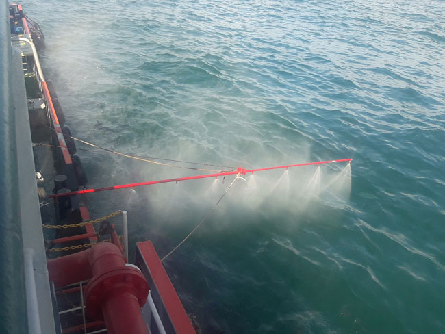 Oil spillage clean-up operations completed - CPC