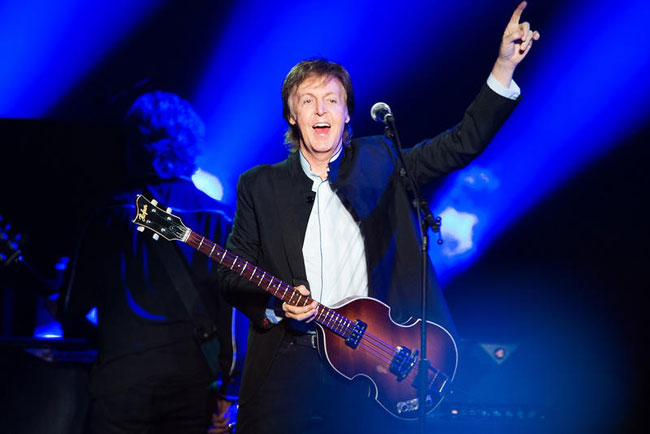 Paul McCartney earns first No. 1 album in 36 years