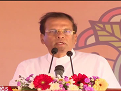 President on solutions to problems of people in North and East (English)