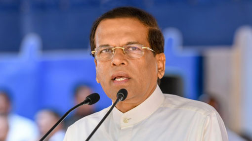 Govt fully committed to face drought situation and provide relief to the affected: President