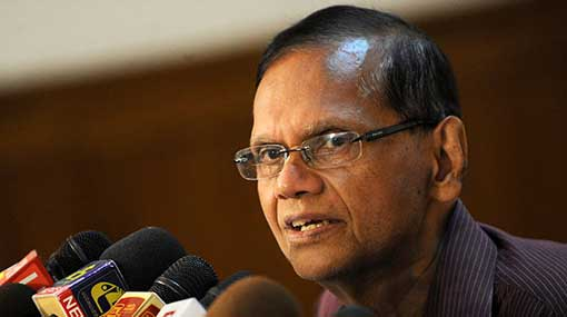 Temporarily suspend IGP from post – G. L. Peiris