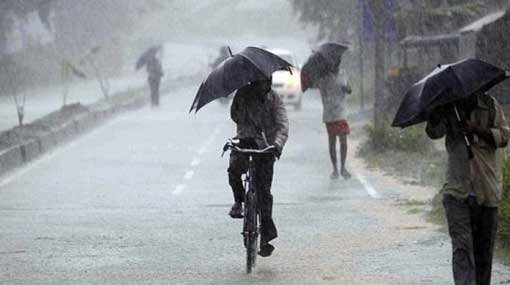 Met. Dept. cautions of strong winds and thundershowers