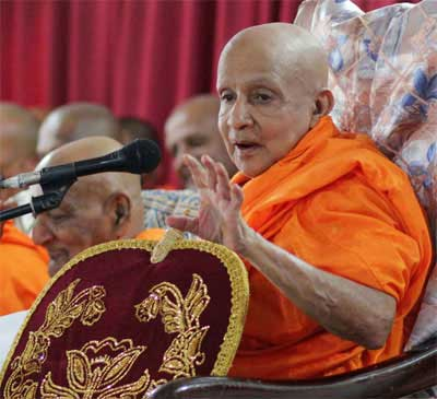 Day of mourning declared for Chief Prelate of Asgiriya Chapter