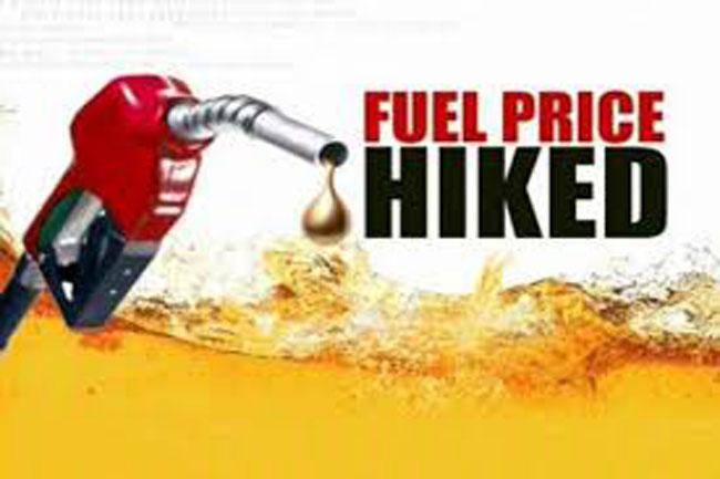 Fuel prices go up again