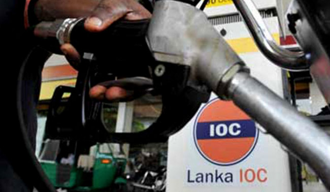 Lanka IOC also hikes fuel prices