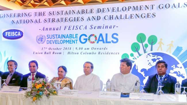 Contribute knowledge and skills to achieve SDGs – President