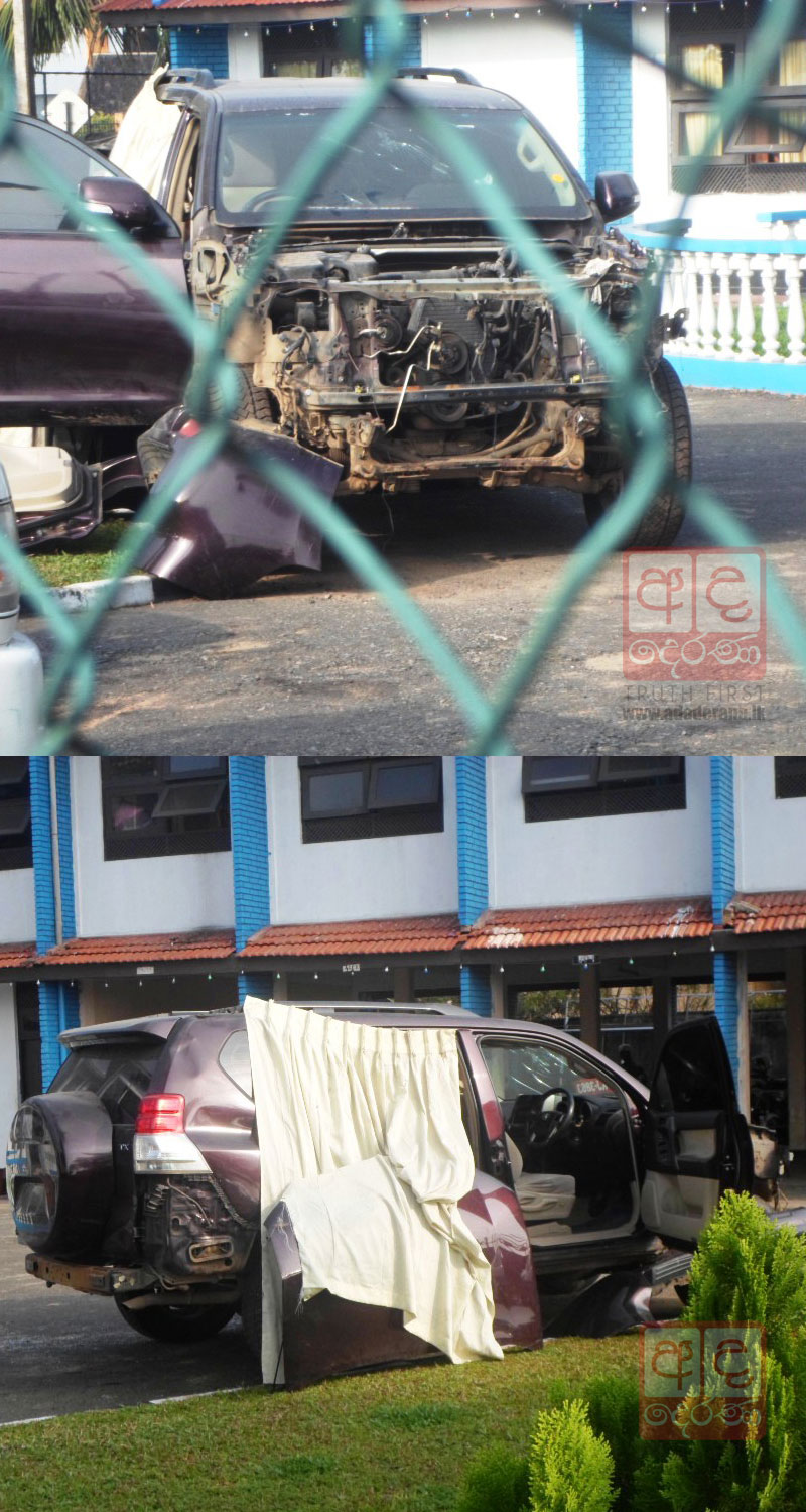 Pictures: Police seize unclaimed luxury vehicle