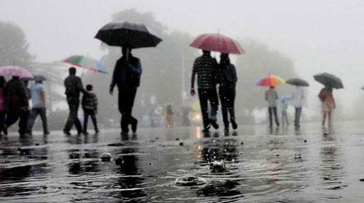 Heavy rainfall expected in parts of the country