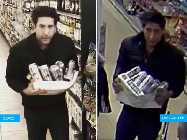 'Friends' star David Schwimmer lookalike wanted in UK for stealing