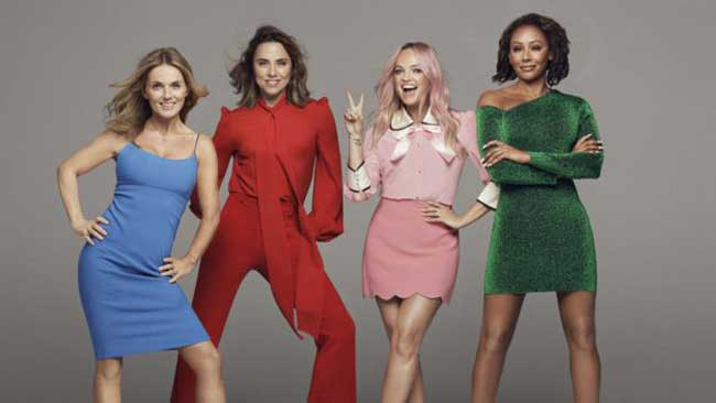 Spice Girls reunite – without Posh – for 2019 UK tour