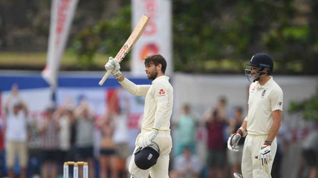 Ben Foakes ton as England out for 342 in first Test