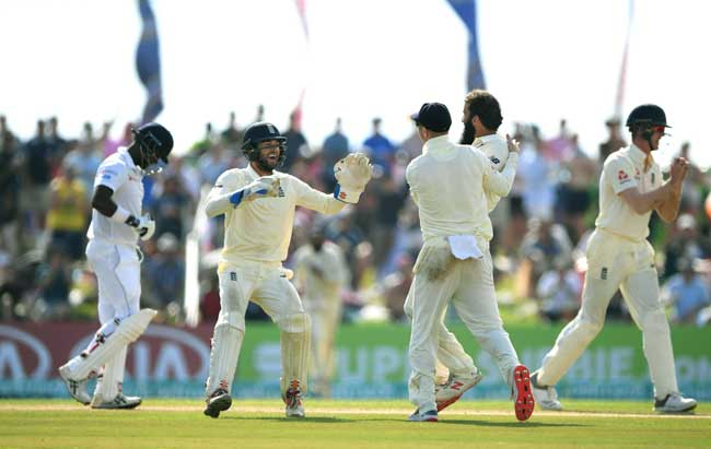 Sri Lanka all out for 203; England lead by 139