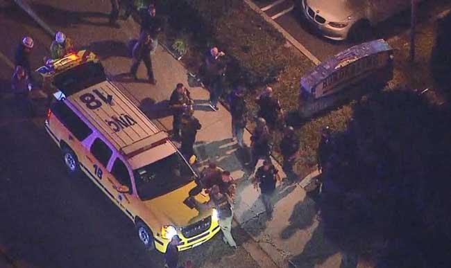 13 dead, including gunman after shooting at California bar