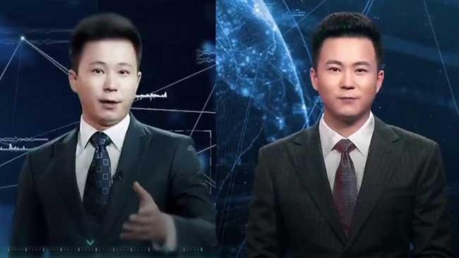 China's Xinhua agency unveils AI news presenter