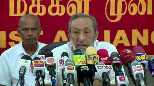 Karu became pawn of UNP plan – Vasudeva