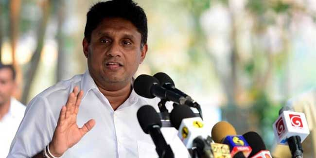 Come for a vote if you have a spine, Sajith challenges SLPP