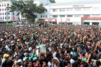 UNP protest in Colombo...