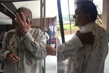'Chili powder' attacks in Parliament...