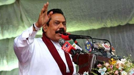 Forcibly removing me is no easy task – Mahinda Rajapaksa
