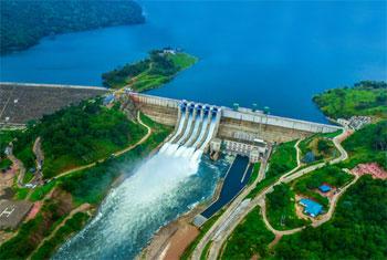 Sluice gates of Moragahakanda Reservoir opened…