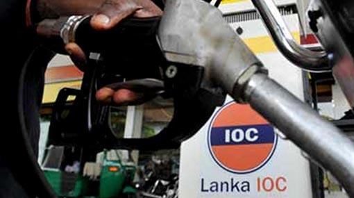 Lanka IOC also reduces fuel prices