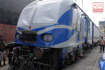 New train coaches from India...