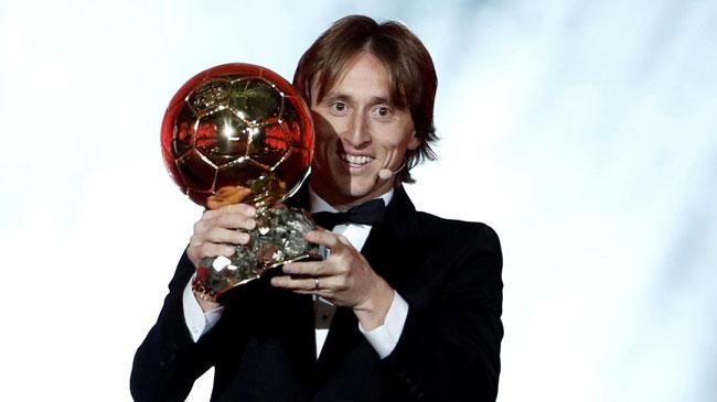 Luka Modric wins 2018 Ballon d'Or, breaks Messi-Ronaldo dominance