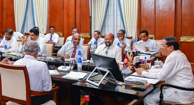 Ranil must first establish democracy within his party – President