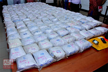 2nd largest heroin haul seized in SL...
