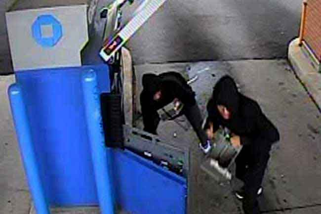 Suspects breaking ATM in Welimada caught on CCTV