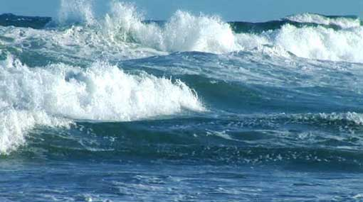Rough seas expected in east