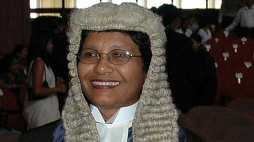 SC Justice Eva Wanasundera retires today